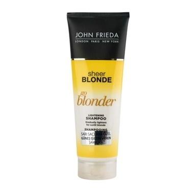 John Frieda  Sheer Blonde Go Blonder Lightening Shampoo 250ml Renksiz